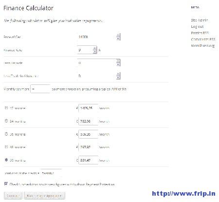 finance-calculator-wordpress-plugin
